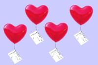 100 herzluftballons mit helium zur hochzeit im ballonsupermarkt onlineshop. Black Bedroom Furniture Sets. Home Design Ideas