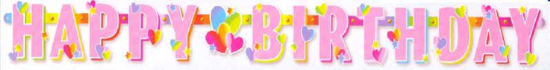 Happy Birthday Kindergeburtstag